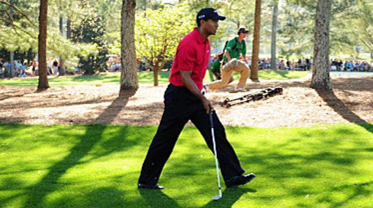 Tiger Woods will be back among the pine needles at Augusta National in April.