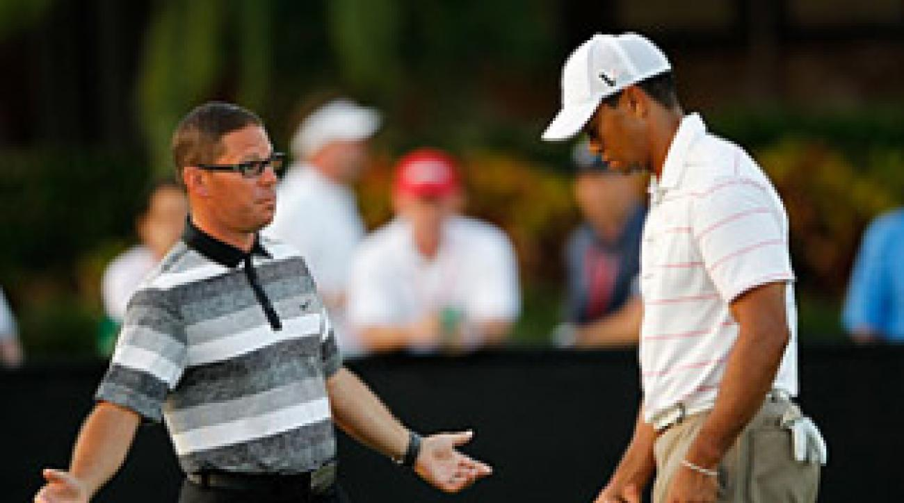 Sean Foley has been coaching Tiger Woods since the 2010 PGA Championship.