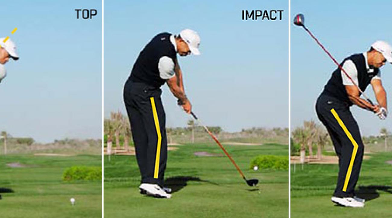 Tiger Woods' Posture