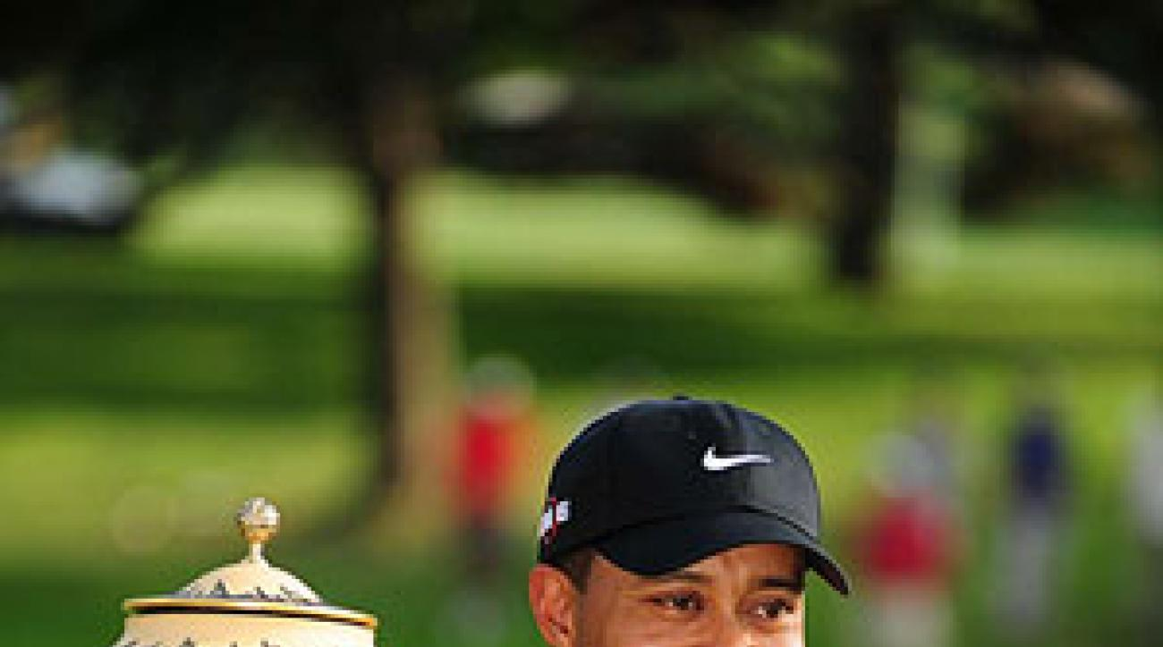Tiger Woods has won at Firestone seven times.