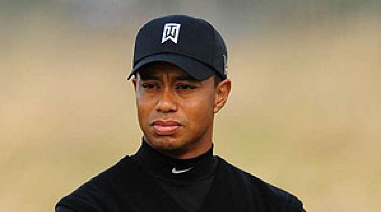 Tiger Woods missed only his second major championship cut since turning pro at the British Open.