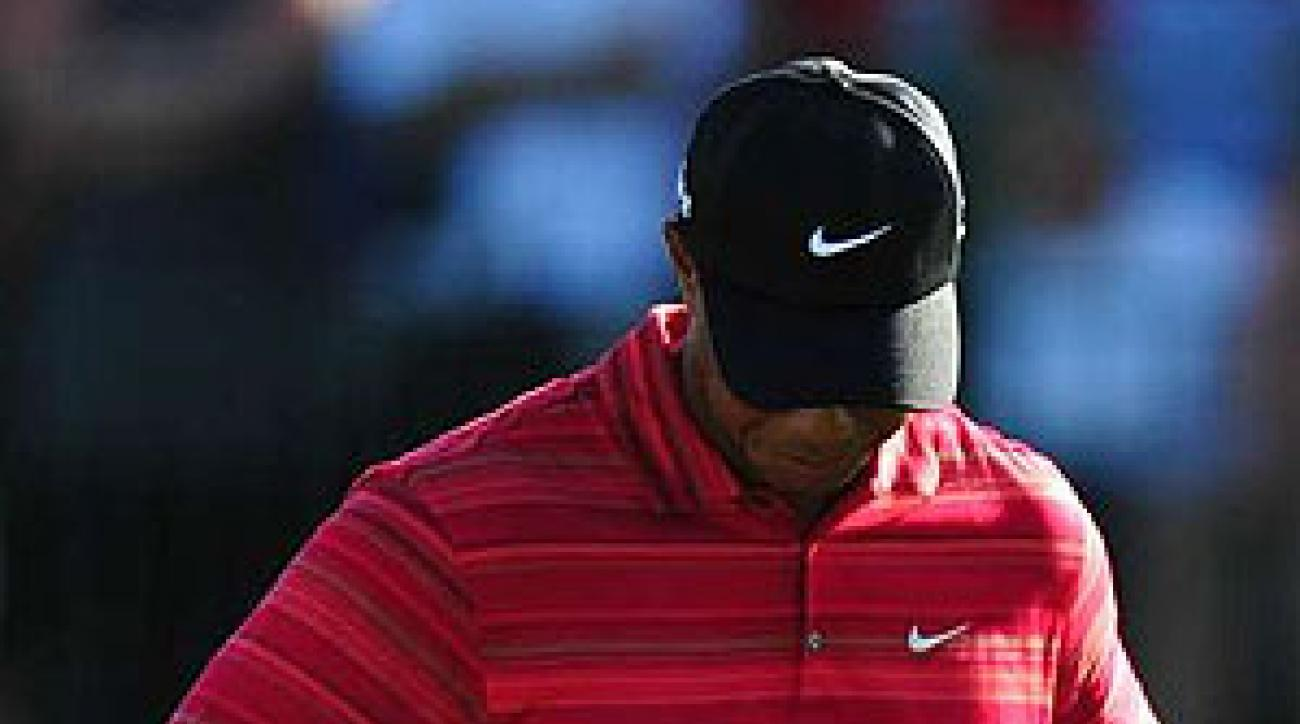 """Woods said on his Web site Wednesday, """"I have not been true to my values."""""""