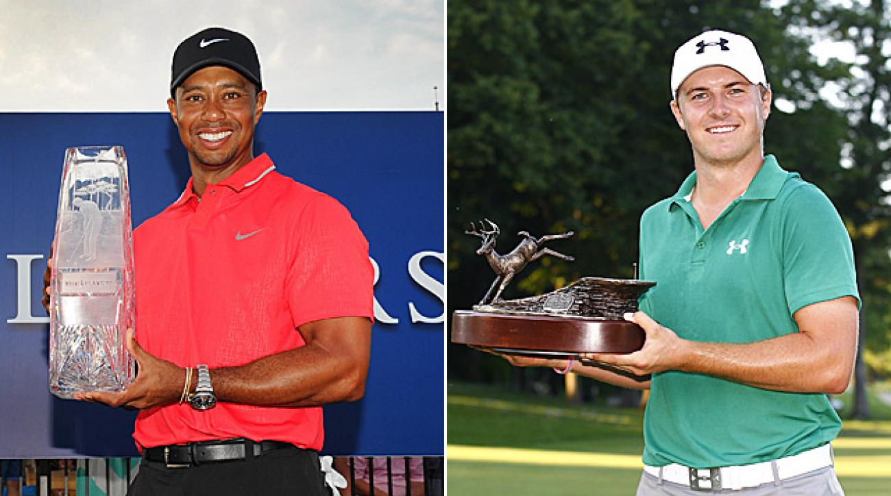 tiger woods wins player of the year pga tour 2013