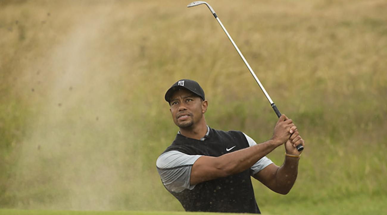 Woods last British Open victory came at Royal Liverpool in 2006.