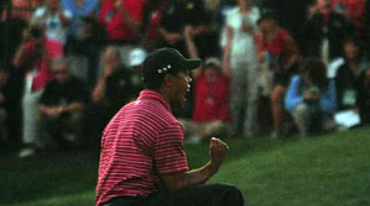 Tiger Woods shot a 3-under 67 in the final round.
