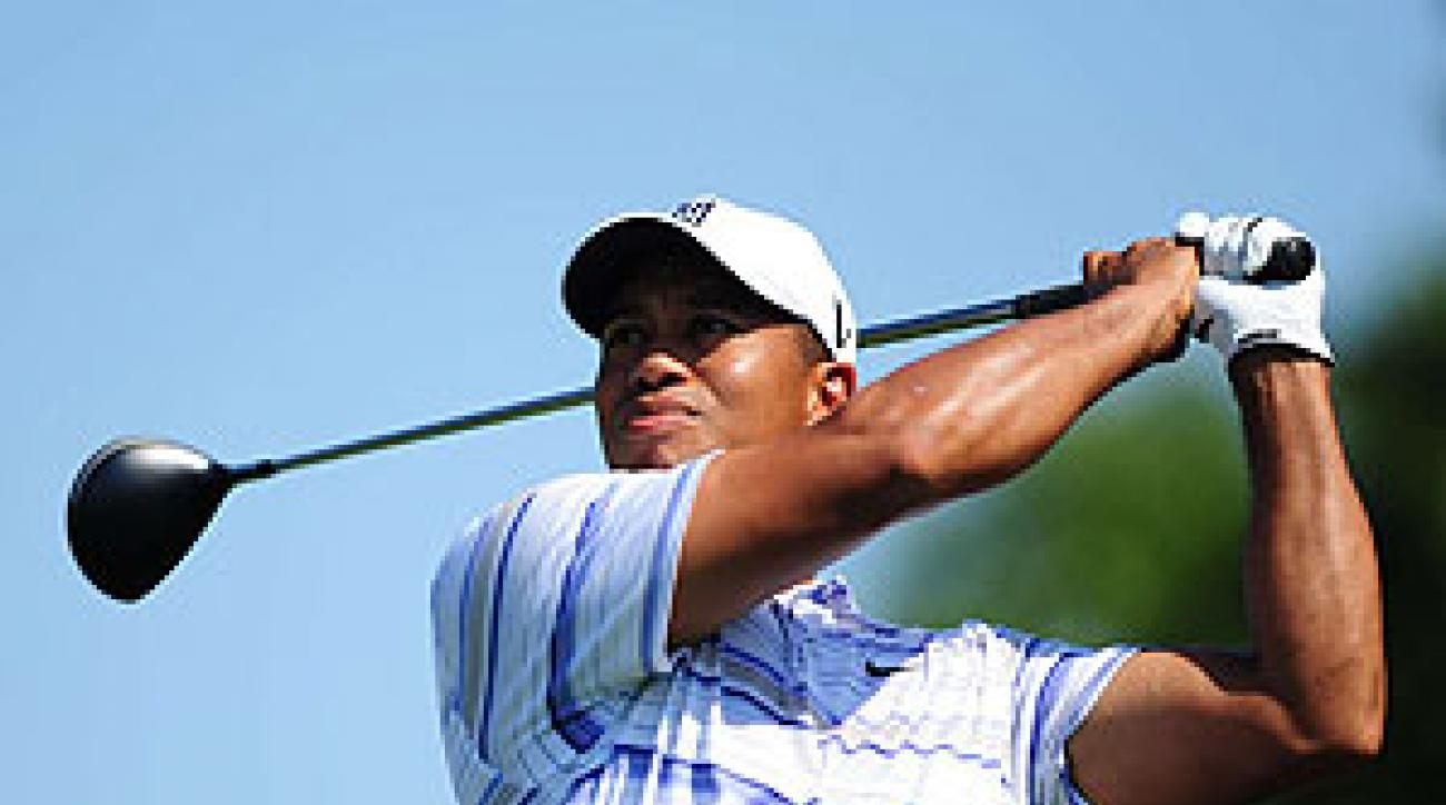 Tiger Woods announced last week he would play the Barclays.
