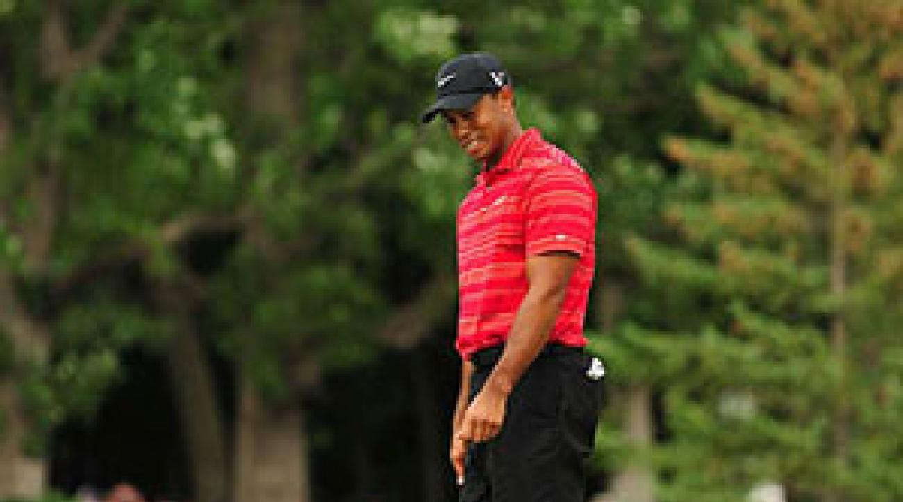 """""""I made absolutely nothing,"""" Woods said."""