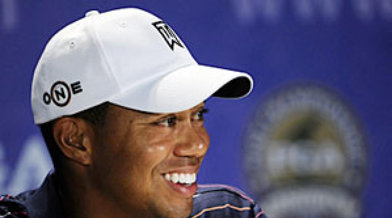 "Tiger Woods was reportedly being fined by the PGA Tour for criticizing a rules official, but Woods said on Tuesday, ""That was an erroneous report."""