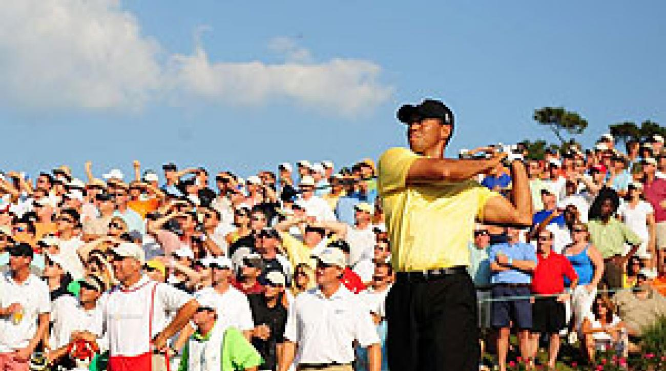 The Tour's prime concern: Whom, if anyone, will galleries flock to if not to Woods?