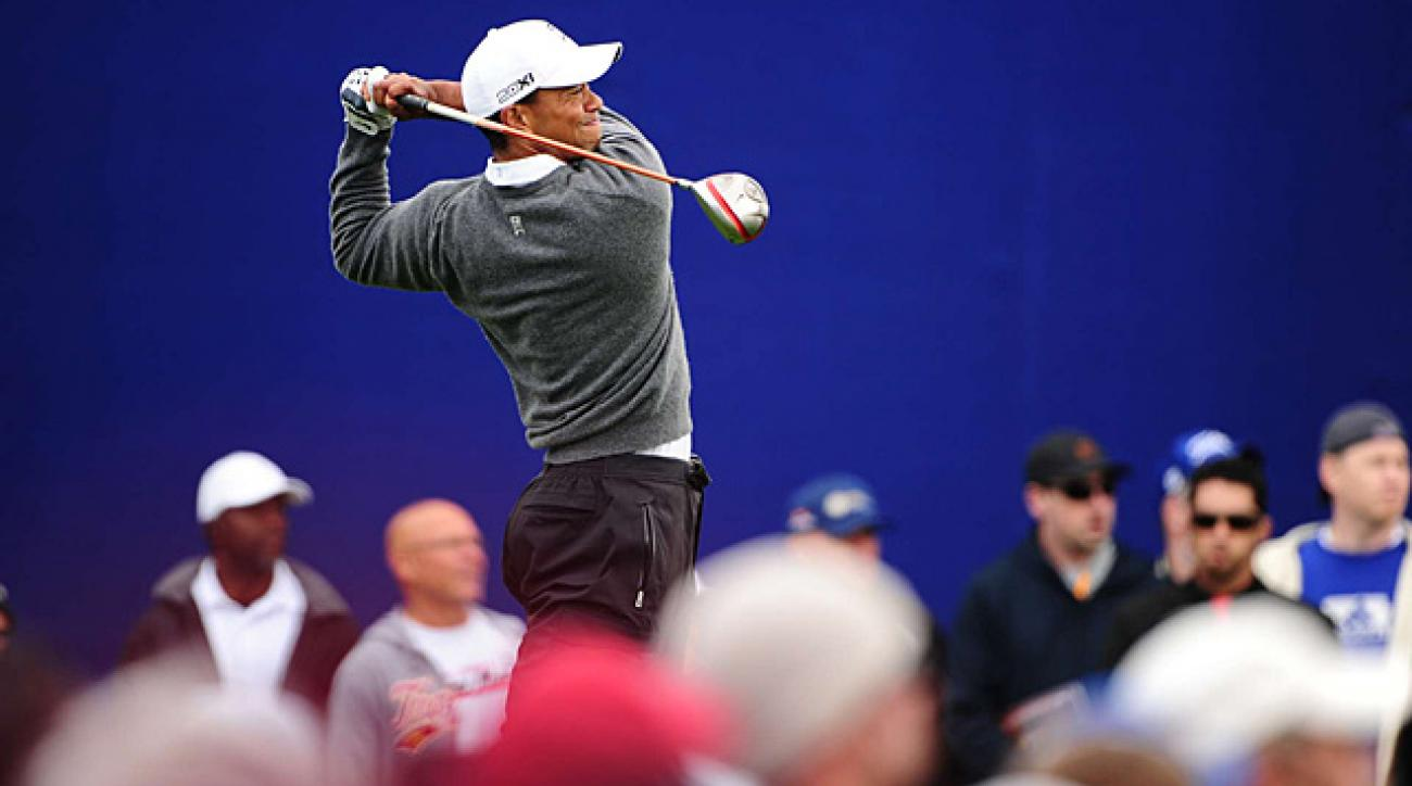 Tiger Woods is trying to win yet again at Torrey Pines.