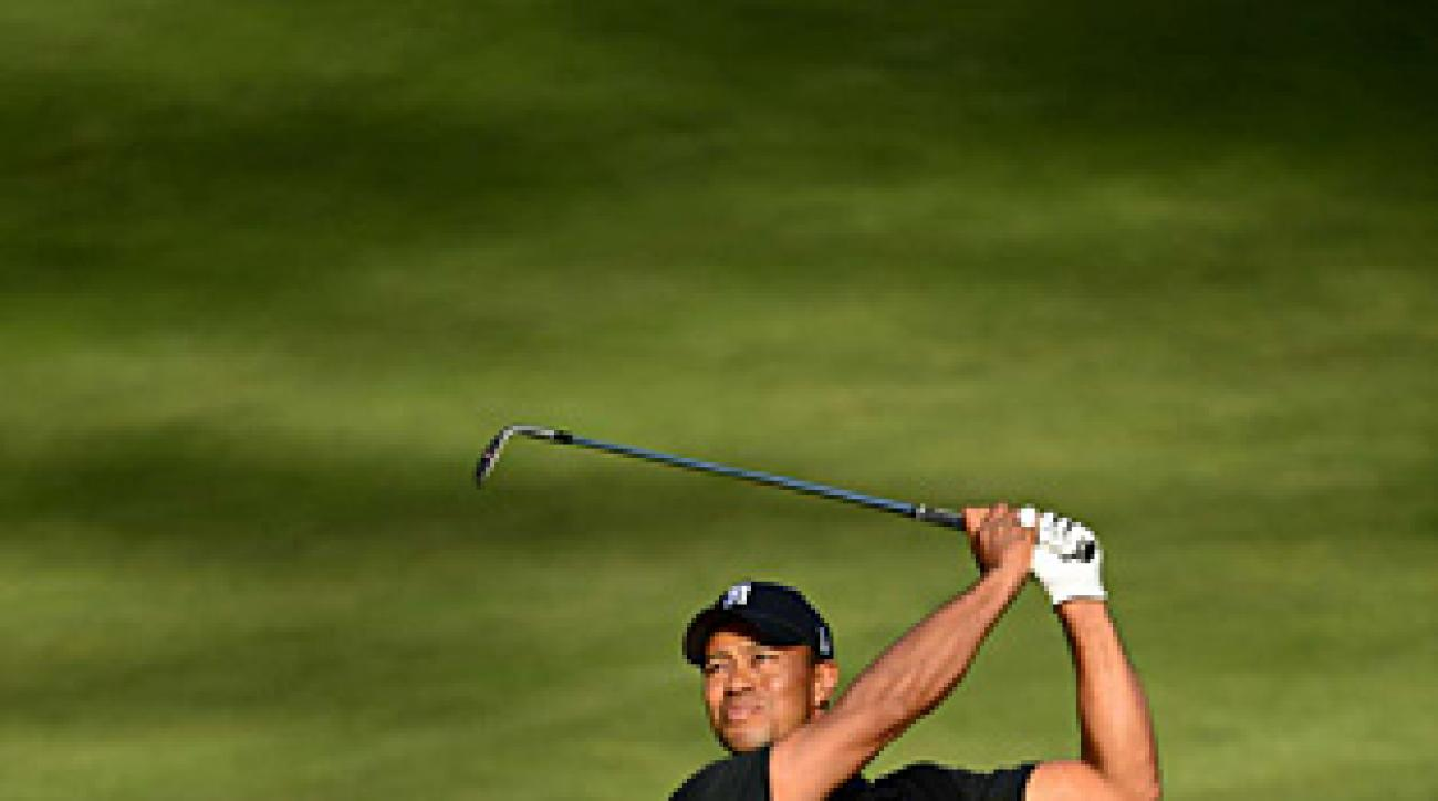 Woods has been precise at Olympic Club.