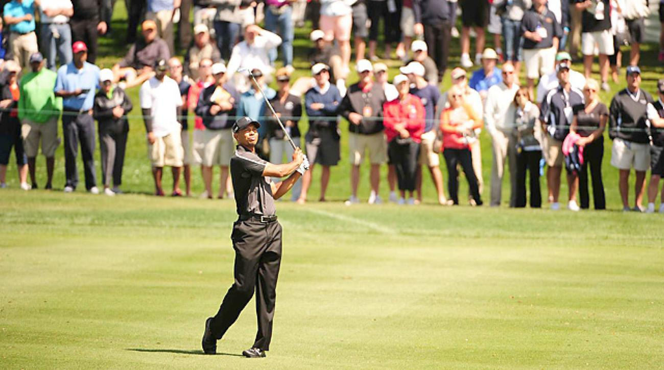 Tiger Woods is looking for his eighth victory at Bay Hill this week.