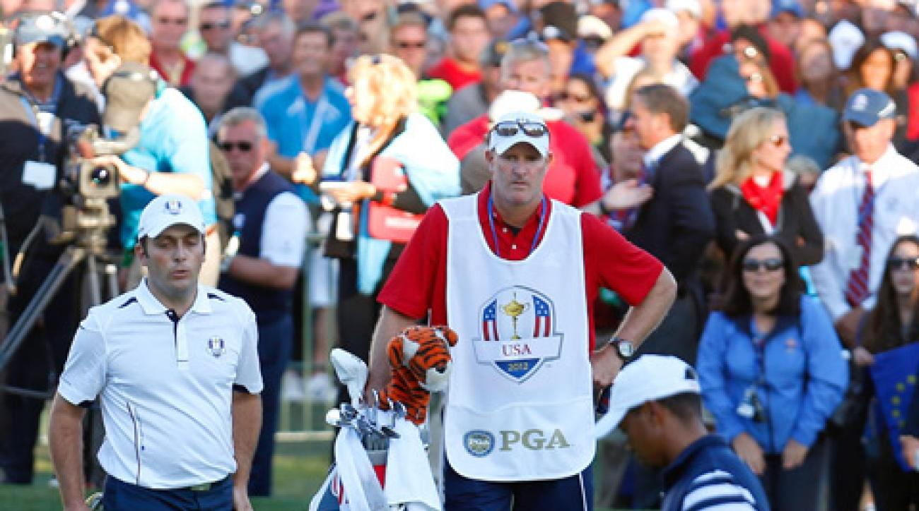 Francesco Molinari was criticized for not conceding a four-foot putt to Tiger Woods on Sunday at the Ryder Cup.