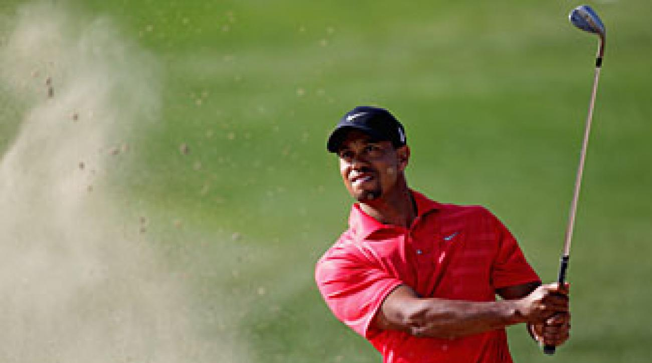 Tiger Woods tied for third last week in Abu Dhabi.