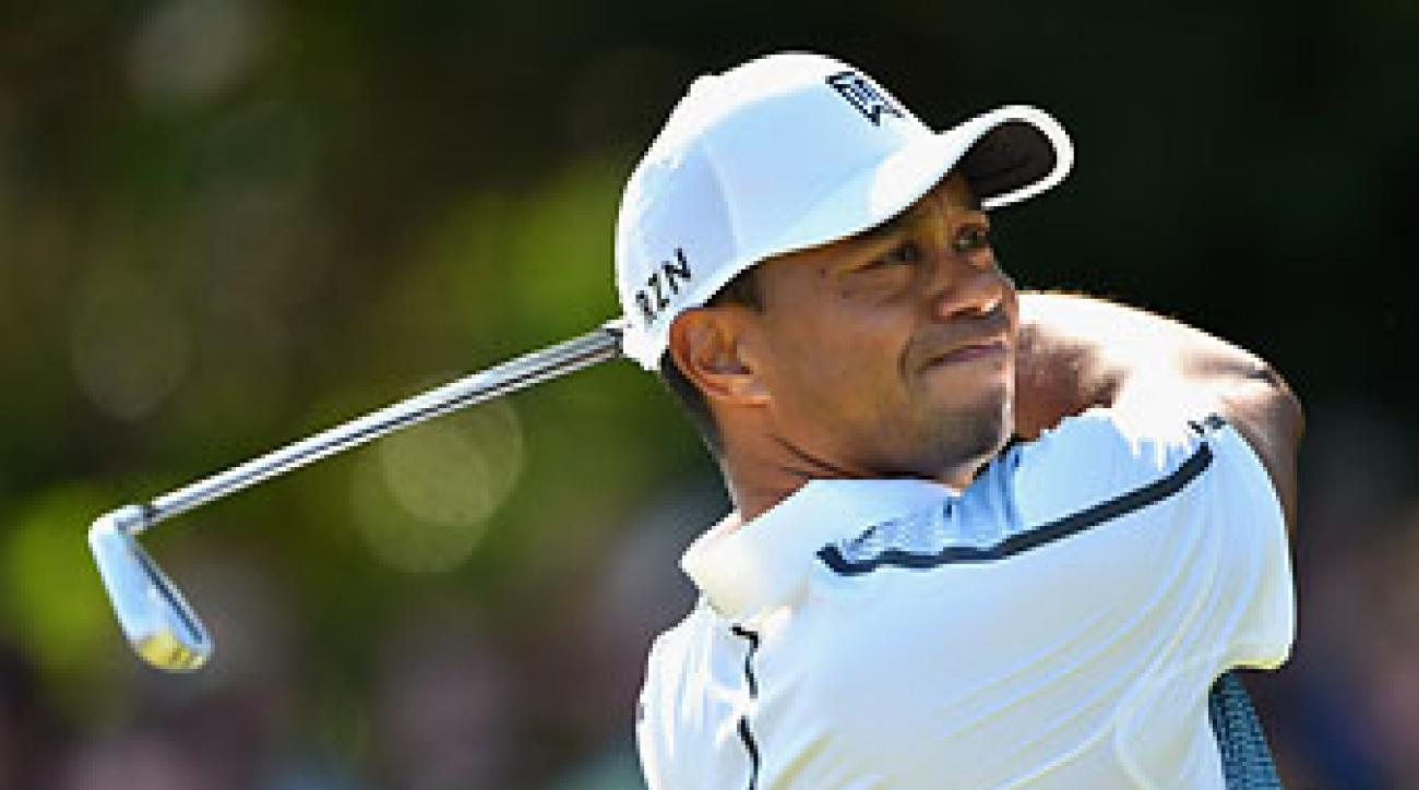 In his first major of the year, Tiger Woods shot a 3-under 69 at the British Open.