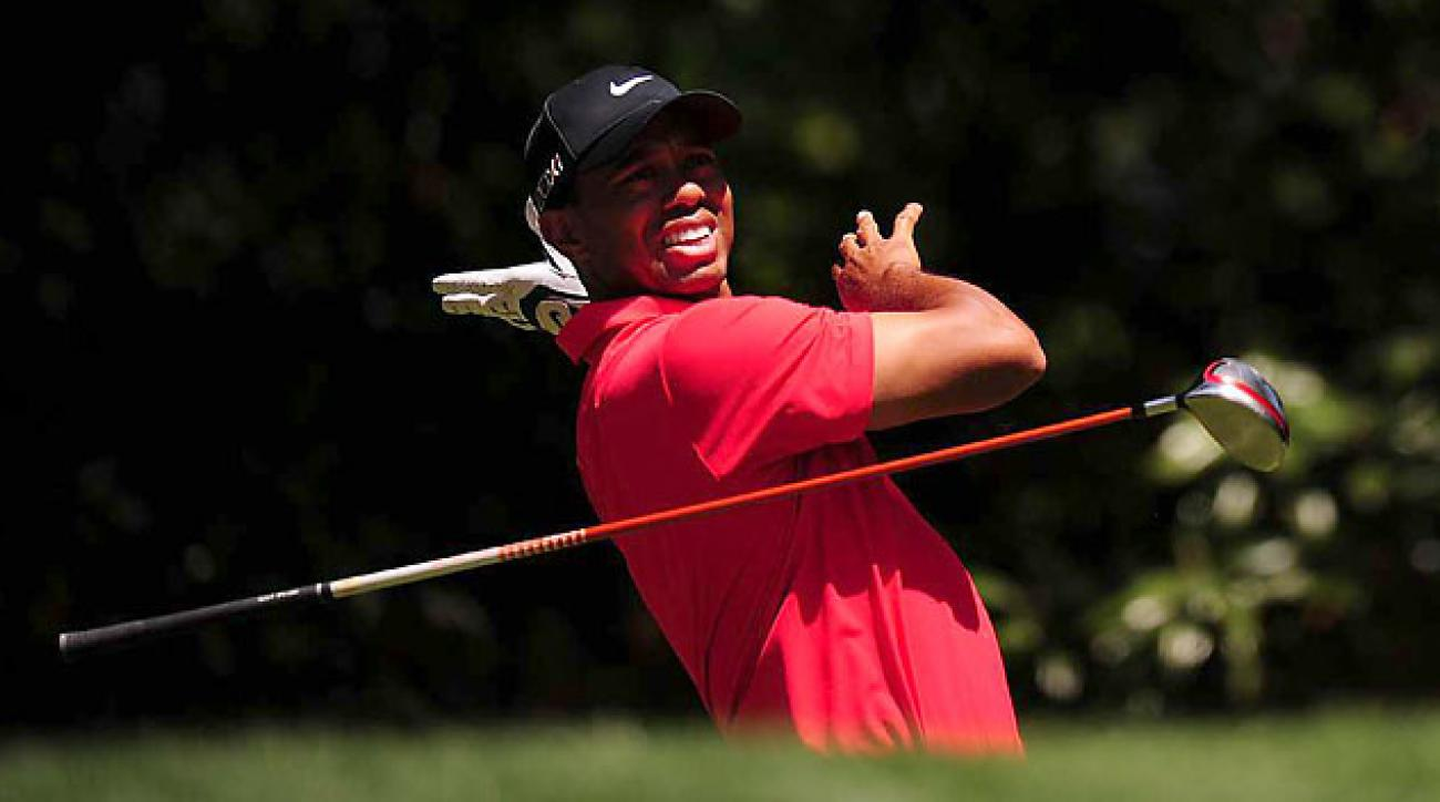 After winning at Bay Hill, Woods never broke par during four rounds at the Masters.