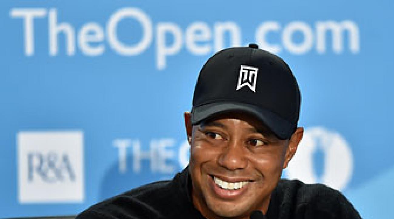 Tiger Woods has won three Open Championships, his most recent coming at Royal Liverpool in 2006, the site of this year's event.
