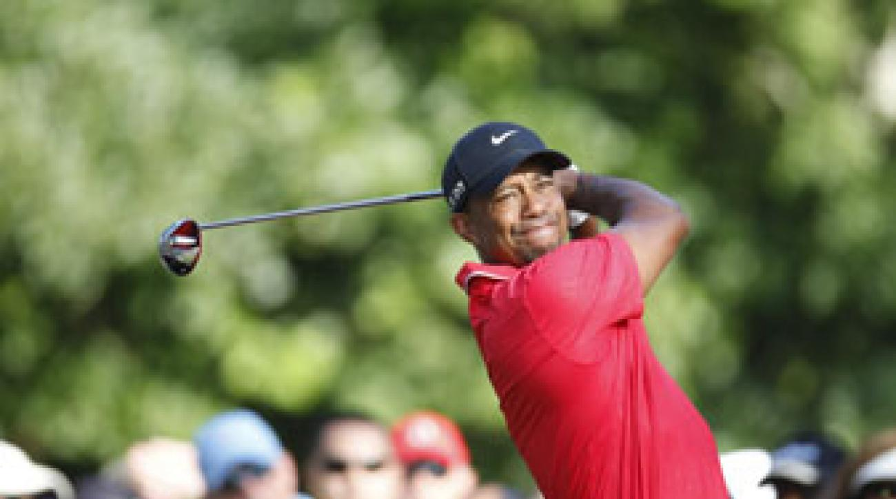 great divide  tiger woods turned in another breathtaking