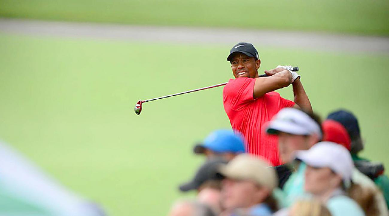Tiger Woods made a nice charge on Sunday, but finished T4, four shots out of the playoff.