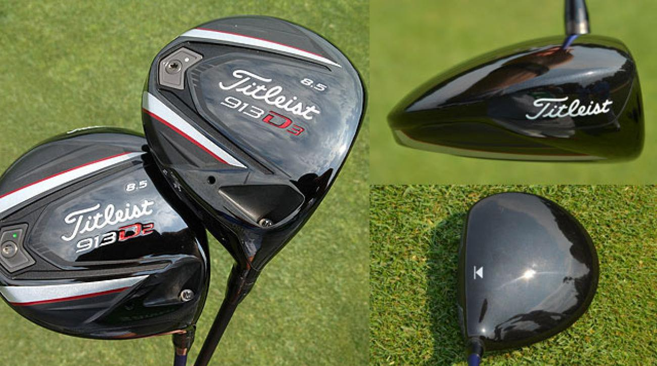 Titleist 913D2 and 913D3 drivers