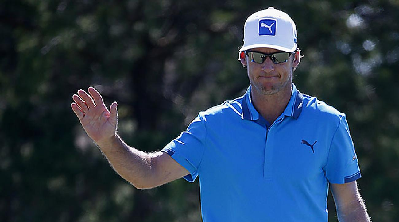 Will MacKenzie is tied for the lead at the McGladrey Classic.