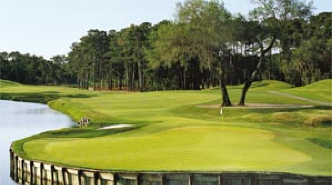 The 16th at the TPC at Sawgrass