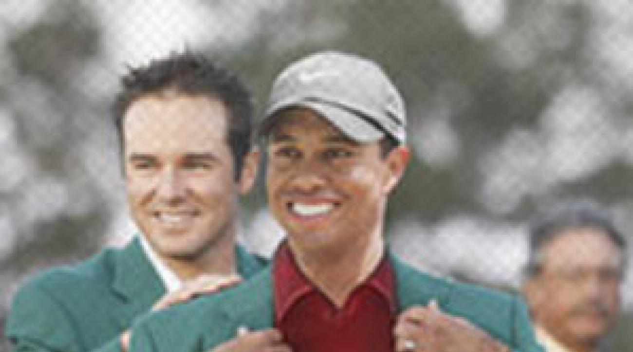 Tiger Woods, Trevor Immelman, MastersGre