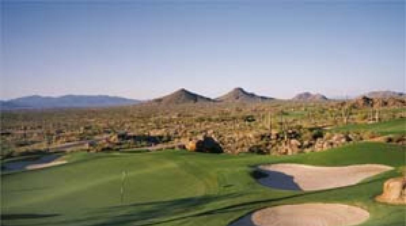 Troon North's Pinnacle Course, hole 10