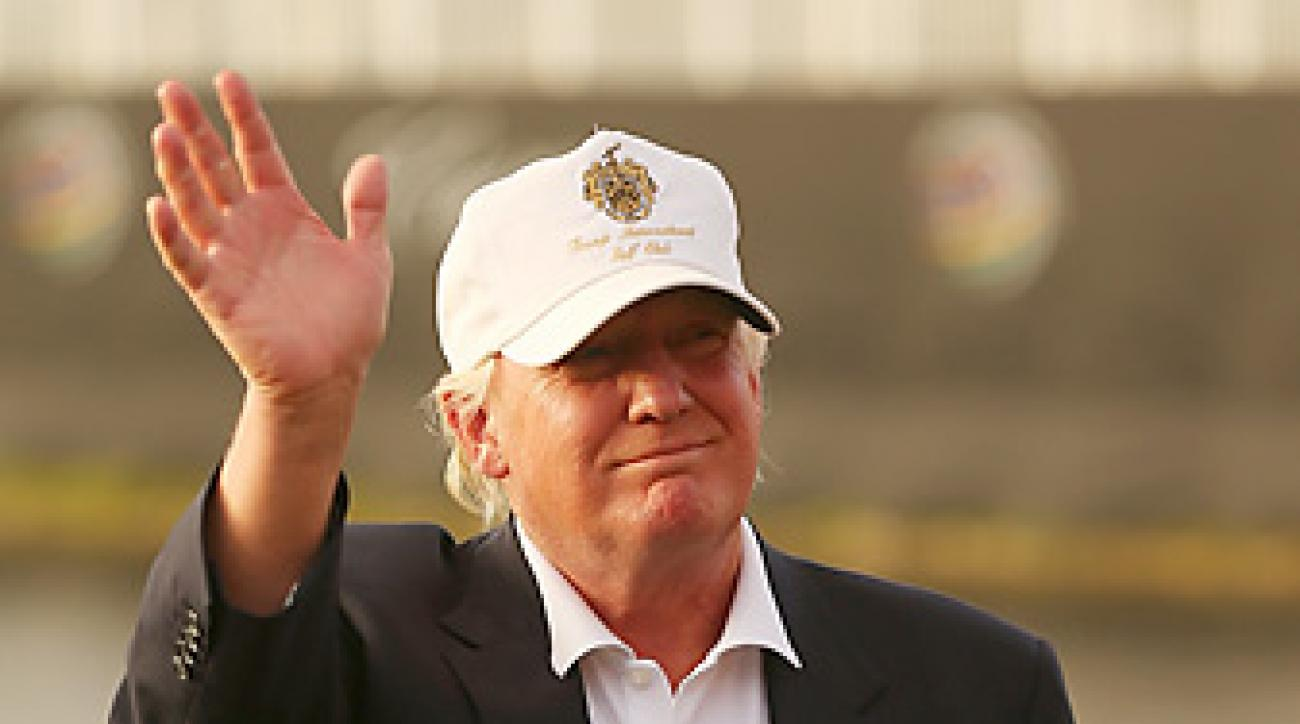 One of Trump's more recent golf acquisitions before Dubai was Doral, home of the WGC-Cadillac Championship.