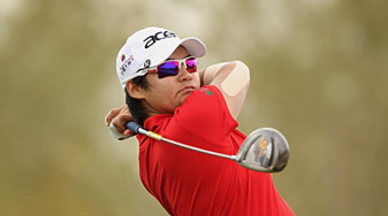 Yani Tseng made six birdies and one bogey.