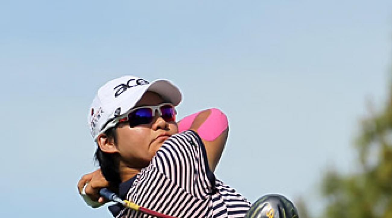 Yani Tseng is going for her sixth major championship win this week.