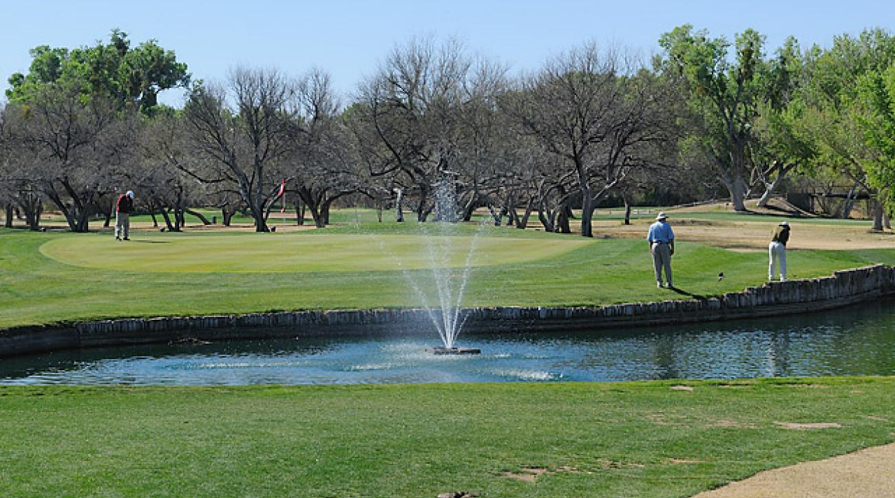 Part of the movie 'Tin Cup' was shot at Tubac Golf Resort in Arizona.
