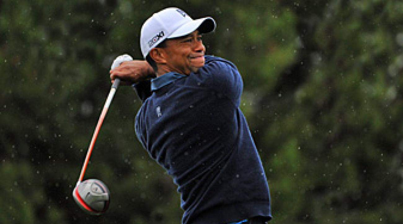 Tiger Woods is seeking his eighth professional win at Torrey Pines.