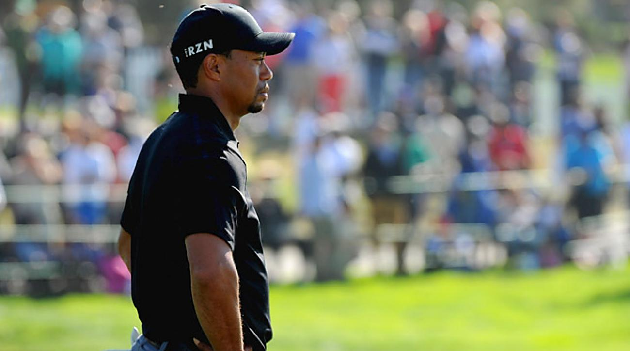 tiger woods shoots 79 to miss cut at farmers insurance
