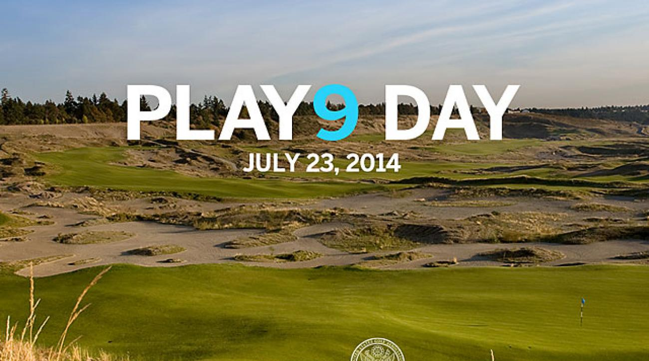 Play 9 will be an annual event to promote a different way of enjoying the game.