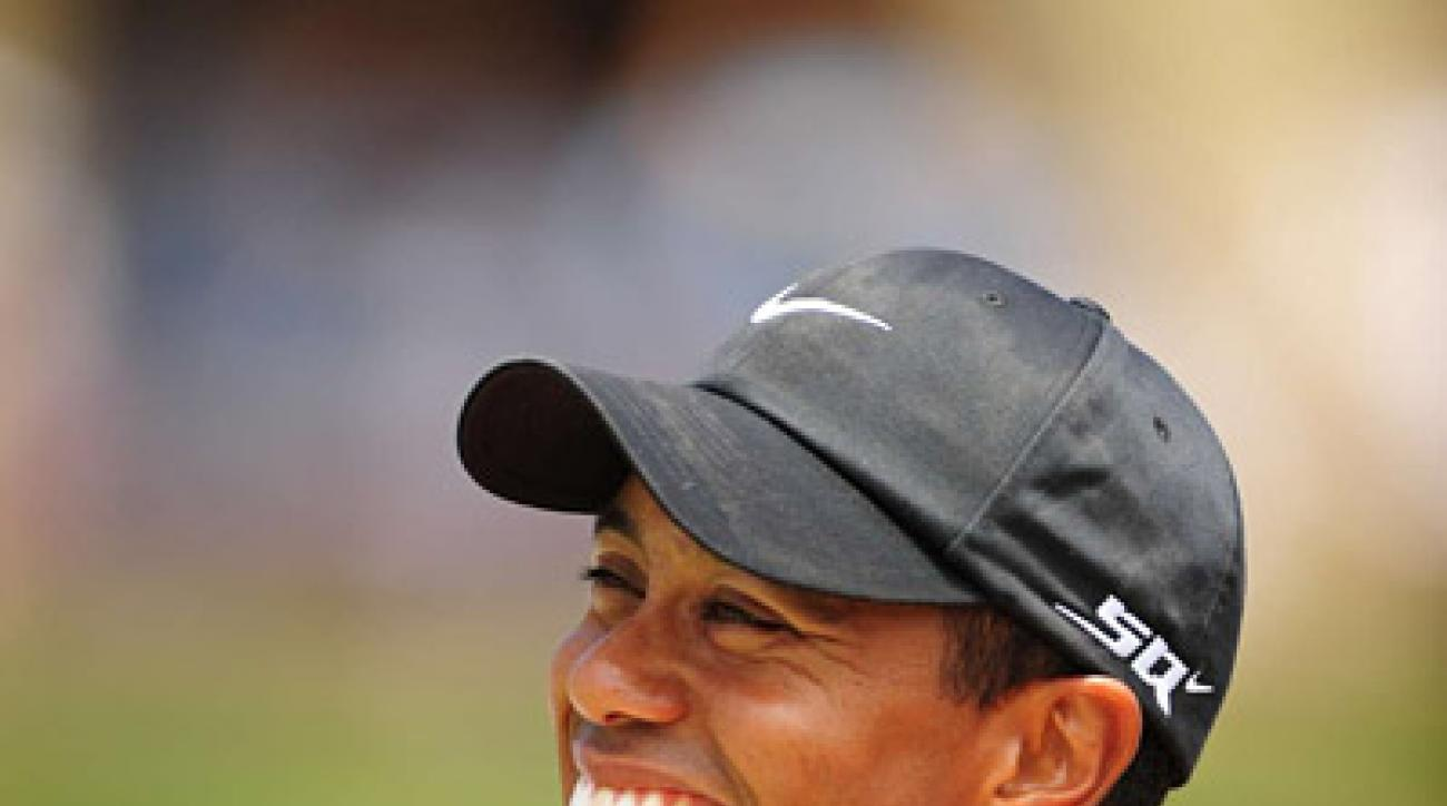 <strong>Tiger's Victory at the U.S. Open</strong><br /><br />                 Tiger Woods won his 14th major championship on Monday at Torrey Pines when he outlasted Rocco Mediate on the 91st hole of play.