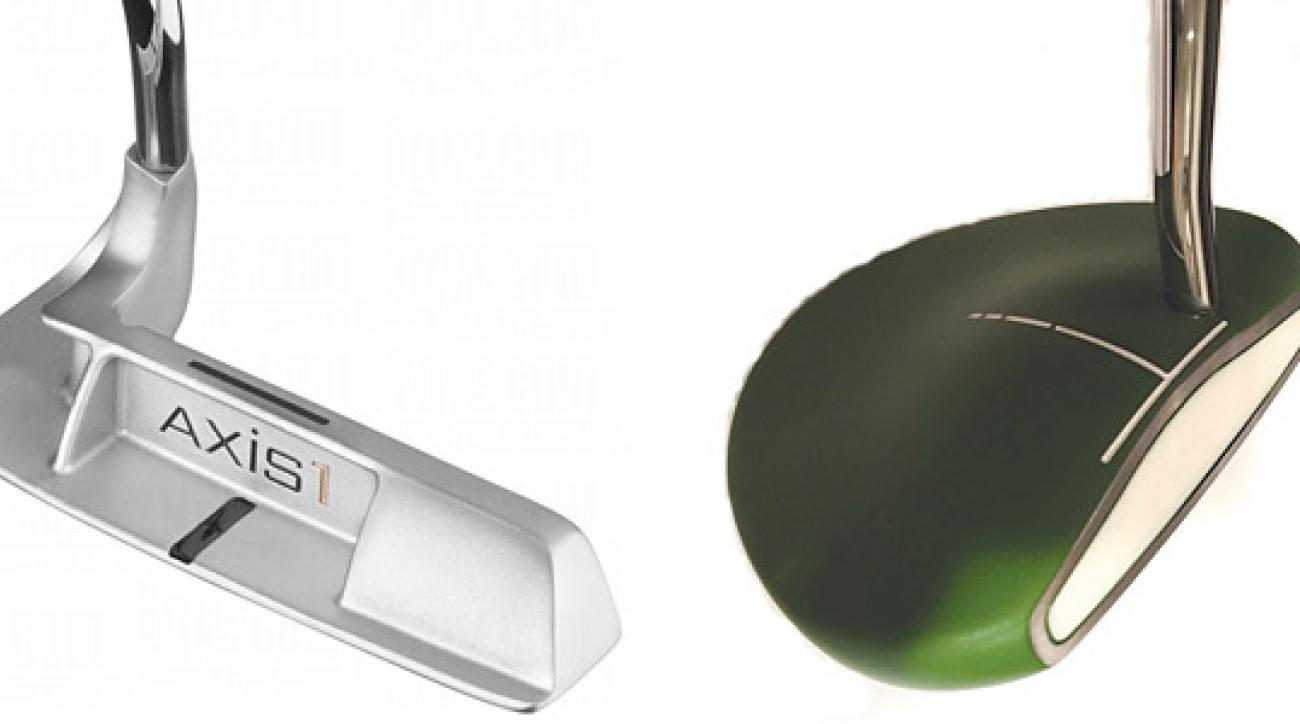 Left: Axis1 Joey Putter; Right: Mantis Putter