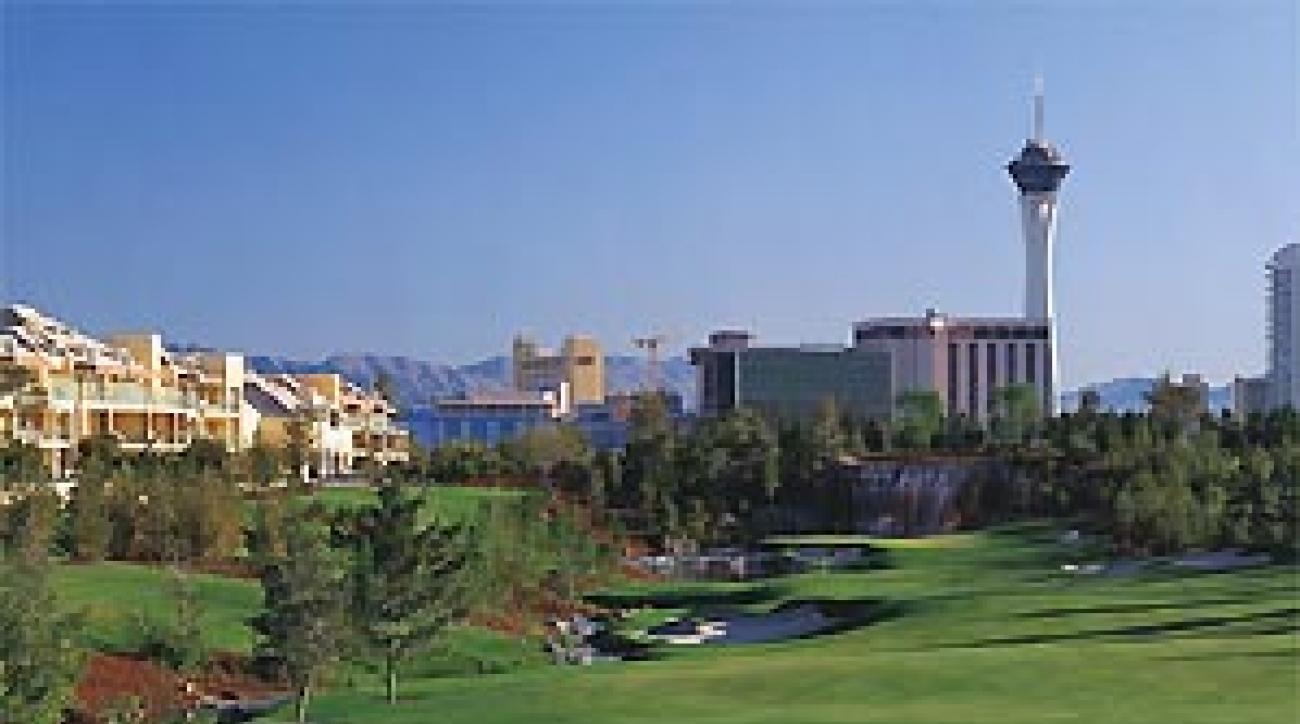 """Wynn's new Vegas track is as much a feat of great engineering as great golf. <span class=""""picturesource"""">John and Jeannine Henebry</span>"""