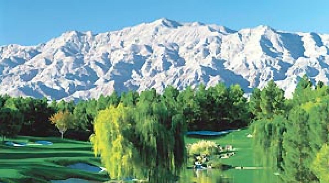 The 18th at Shadow Creek Golf Club