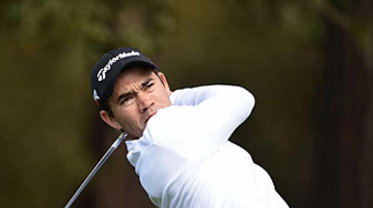 Camilo Villegas opened with a 64 to take the first round lead.