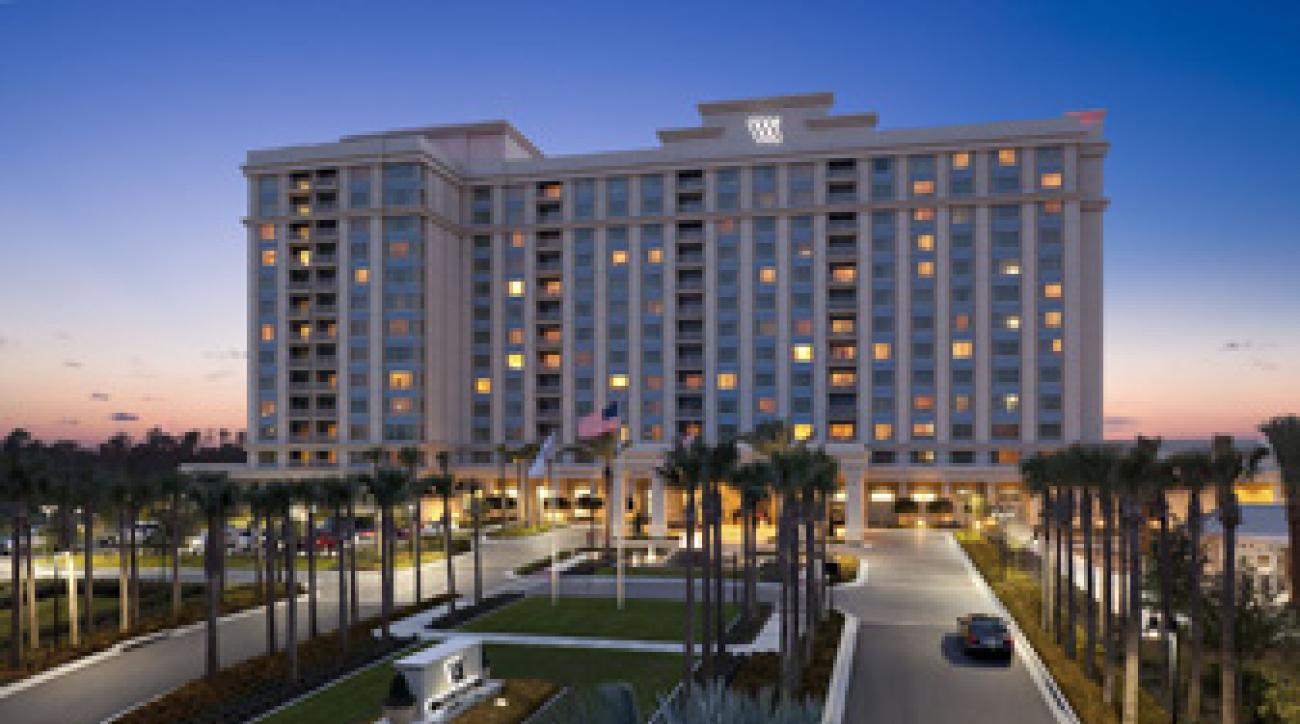 The Waldorf Astoria hotel in Orlando.