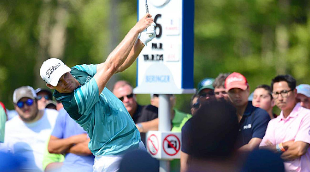 Nick Watney made six birdies and four bogeys on Sunday.