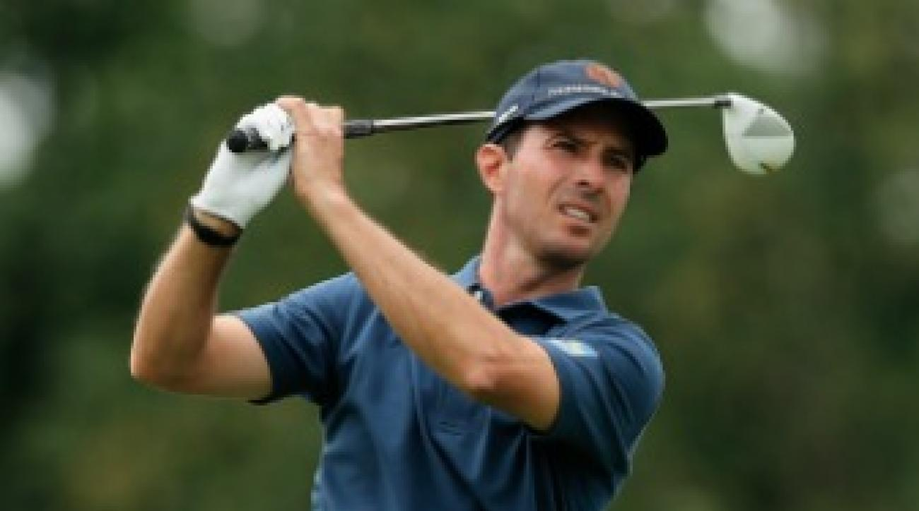 Mike Weir (-2) is five shots off the lead.