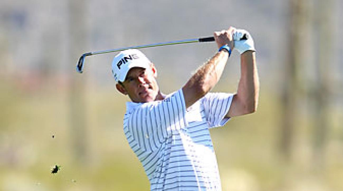 Lee Westwood reached the quarterfinals for the first time.