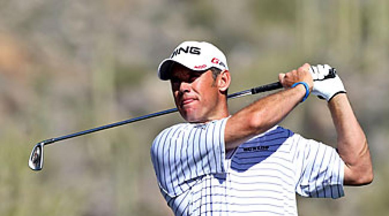 Lee Westwood beat Nick Watney on Friday.