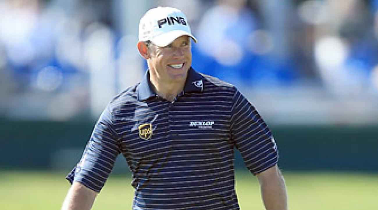 Lee Westwood shot a four-under 68 in the third round.