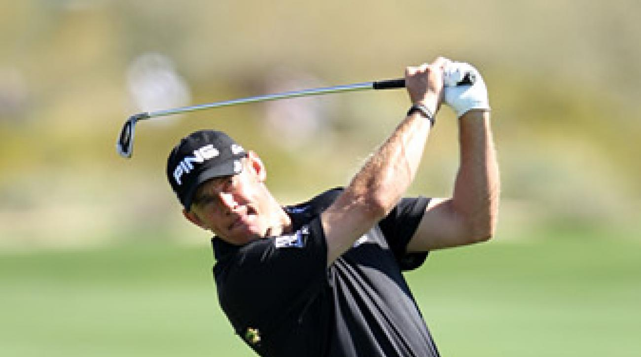 Lee Westwood will face Nick Watney Friday in the third round.