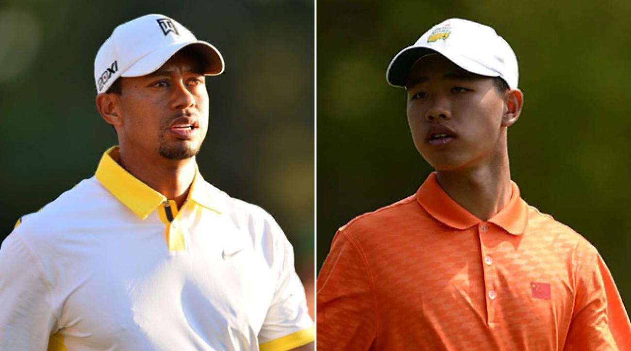 Tiger Woods and Tianlang Guan were both hit with bad breaks thanks to the Rules of Golf this week.