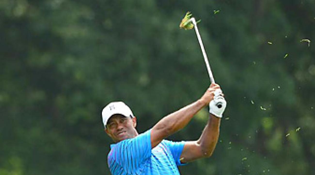 Woods win at the 2011 World Challenge was his first victory in over two years.