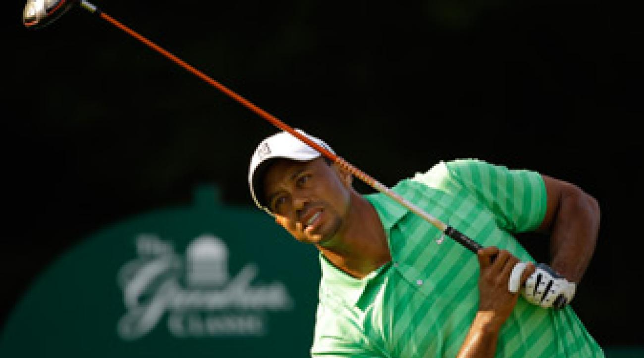 Tiger Woods missed the cut for only the ninth time in his career.